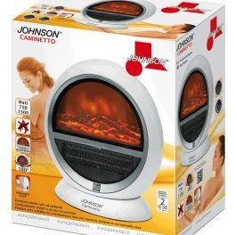 Johnson Caminetto stufa stufetta elettrica termoventilatore ad effetto braciere