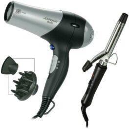 ohnson idea regalo Phon asciugacapelli Ionizcon diffusore + arricciacapelli
