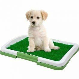 Dog toiletta lettiera tappetino per cani WC lavabile 3 strati erba sintetica