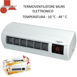 Johnson termoconvettore splitter da parete con termostato e telecomando Display
