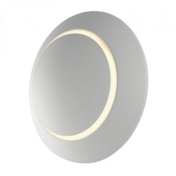 Applique a Parete LED Twilight orientabile con diffusore Movibile effetto ECLISSE 4w