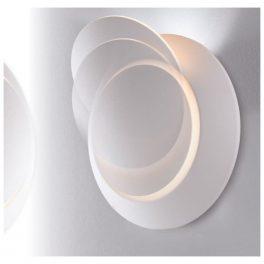 Applique a Parete LED Twilight orientabile con diffusore Movibile effetto ECLISSE 4w