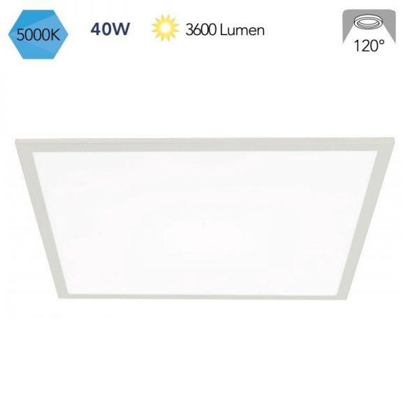 Pannello LED 60×60 Bianco 40w  5000k LED-PANEL-F-60X60