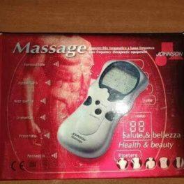 Johnson Massaggiatore Apparecchio terapeutico a bassa frequenza con elettrodi