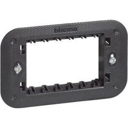 Supporto 3 Moduli Fornito Con Valva Di Protezione Bticino Living Now K4703