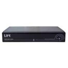 LIFE 75AHD4104 XVR H264 5in1, 4CH-AHD 1080H-IP 1080p,